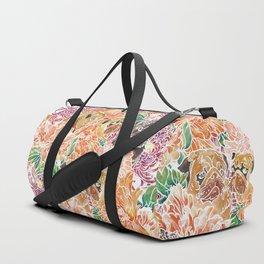 Because Pugs Watercolor Duffle Bag