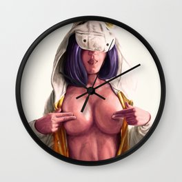 Teasing is pleasing. Wall Clock