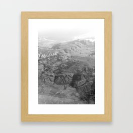 #172Photo #190 Ending the first day of #2017 on a high Framed Art Print