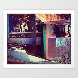 Goa House Art Print