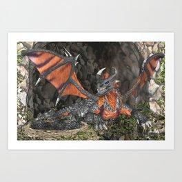 Dragon's Clutch Art Print