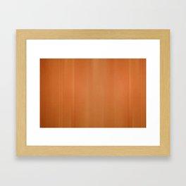 Orange Hangover Framed Art Print