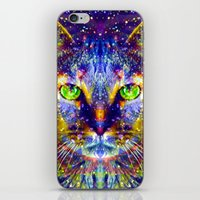 "mercedes iPhone & iPod Skins featuring ""Feed Me Can Food."" - Sir Parker by Sir P & Lady J"