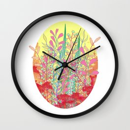 Leafless Wall Clock