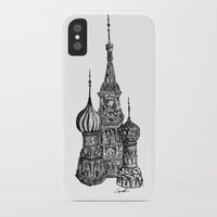 moscow iPhone & iPod Cases featuring Moscow by Name