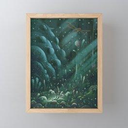Toxic Jungle Framed Mini Art Print