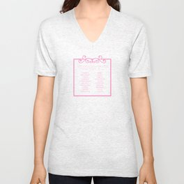 Don't settle for being a pretty face Unisex V-Neck