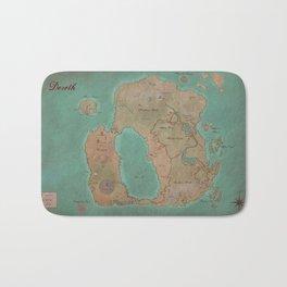 Map of Dereth //Asheron's Call Bath Mat
