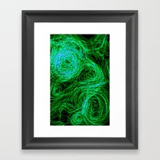 Experiment Framed Art Print