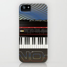 Vintage Synth iPhone Case