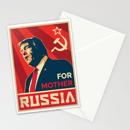 Trump Russia Stationery Cards