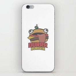 Durrr Burger iPhone Skin