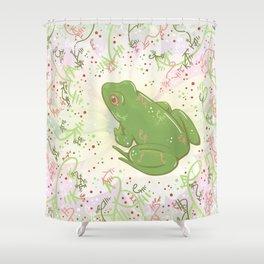 Little Frog Shower Curtain
