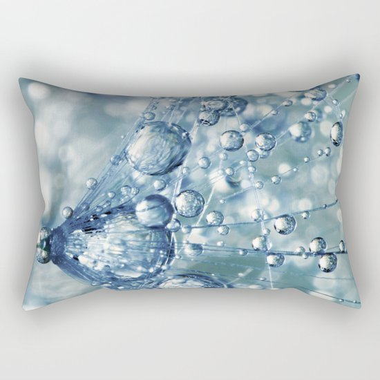 Sparkling Dandy in Blue Rectangular Pillow