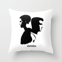 Shameless Ian Gallagher and Mickey Milkovich Throw Pillow