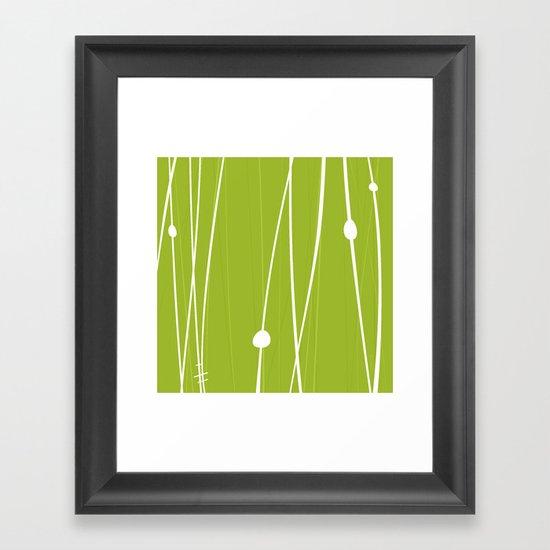 Grass by Friztin Framed Art Print