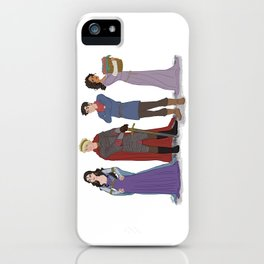 In a Land of Myth and a Time of Magic iPhone Case