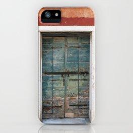Metal Door iPhone Case