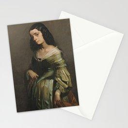 Mademoiselle Henriette Ferre by Jean-François Millet Stationery Cards