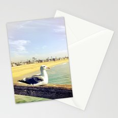 Lazy ass seagull. Stationery Cards