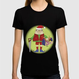 Will Work for Milk and Cookies Elf T-shirt