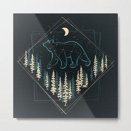 Heaven's Wild Bear Metal Print