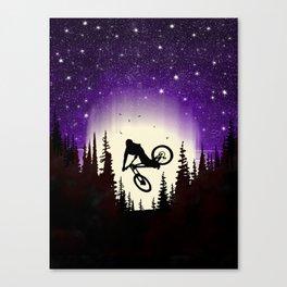 Moon Whip Canvas Print
