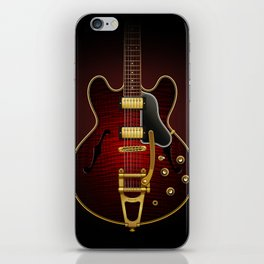 Electric Guitar ES 335 Flamed Maple iPhone Skin