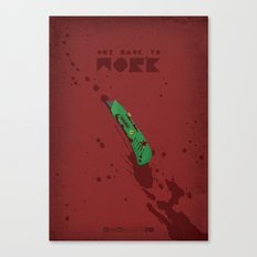 Breaking Bad - Boxcutter Canvas Print