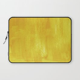 Brushed Yellow Laptop Sleeve