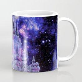 Enchanted Fantasy Castle Pink Purple Blue Coffee Mug