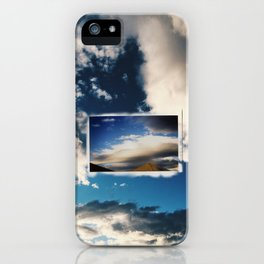 Film on digital iPhone Case
