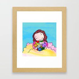Everyone Needs Love Framed Art Print