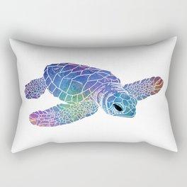 Colorful Sea Turtle I Rectangular Pillow