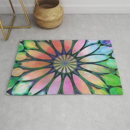 Tropical Flower Dream Rug