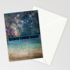 Get Up and Go Stationery Cards