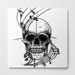 Musikull Metal Print