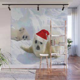 Save Me | Christmas Spirit Wall Mural