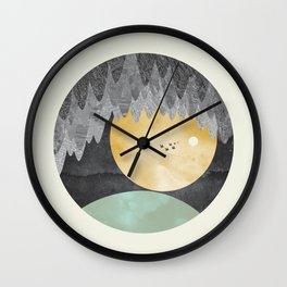 View from the cave Wall Clock