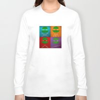 tmnt Long Sleeve T-shirts featuring TMNT Collection by fabvalle