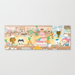 The Octonauts Vegimal Kitchen Canvas Print