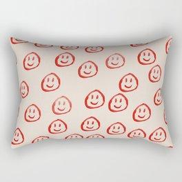 Happy Faces Rectangular Pillow
