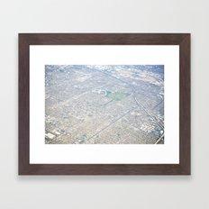 GEOgraphy II Framed Art Print