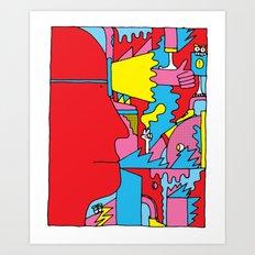 Study no. 5 Art Print
