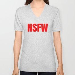 NSFW Unisex V-Neck