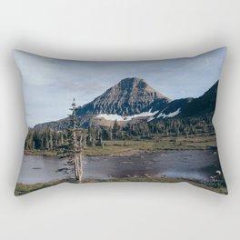 On The Hidden Lake Trailhead Rectangular Pillow