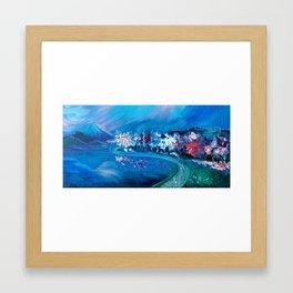 Lake Washington Blooms Framed Art Print