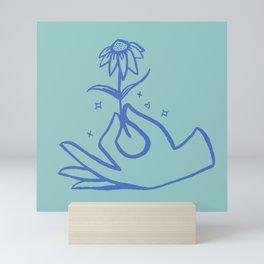 Springtime Magicx Blue Mini Art Print
