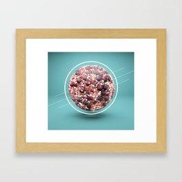berry ball Framed Art Print