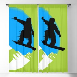 Snowboarding Blackout Curtain